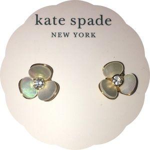 kate spade disco pansy earrings